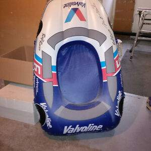 Inflatable Mark Martin rubber dingy car