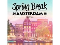 Spring break Amsterdam festival ticket