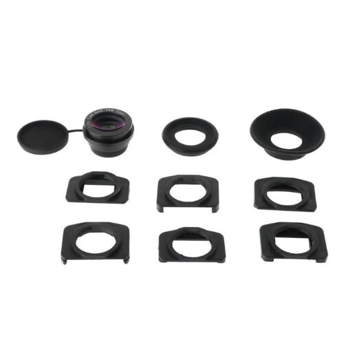 Fixed Focus Viewfinder Eyepiece Eyecup Magnifier for Canon N