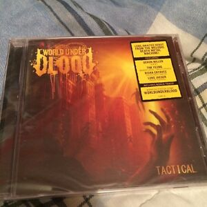 World Under Blood - Tactical CD Sealed