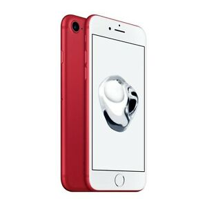 ✅URGENT! iphone 7 128 rouge debloquer !! factory unlocked !!
