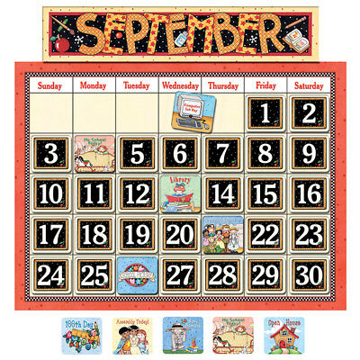 Classroom Calendar Bulletin Board (Bulletin Board Calendar)