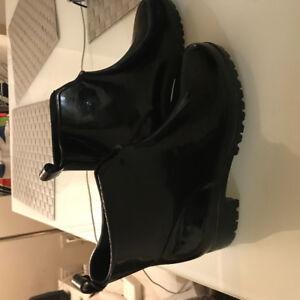 Bottines de pluie. Rain ankle boots Size 8