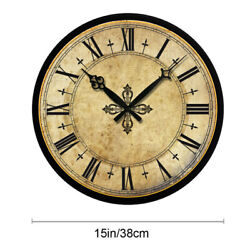 15 Large Wall Clock Retro Living Room Home Decor Antique Numbers Clock Time