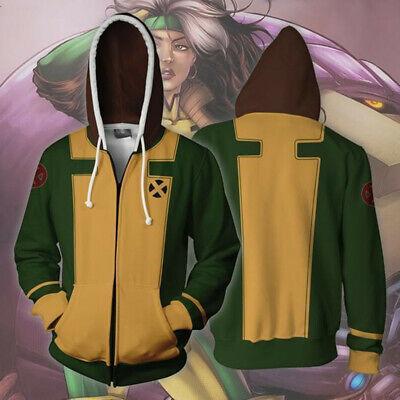 Marvel X-Men Storm Ororo Munroe Cosplay Costume Zip Hoodie Jacket Sweater Coat](X Men Storm Costume)