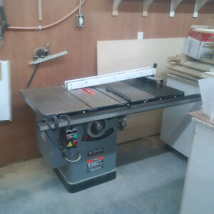 King Industrial Table Saw
