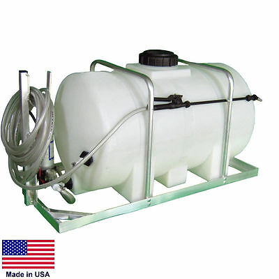 Sprayer Commercial - Skid Mounted - 12 Volt Dc - 35 Gallon Tank - Jet Agitation