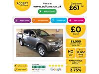 Mitsubishi L200 2.5DI-D CR ( EU V ) 4WD LB auto Barbarian FROM £67 PER WEEK.
