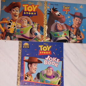 Qty 3 x Toy Story Books London Ontario image 1
