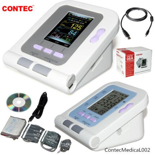 CONTEC Digital Arm Blood Pressure Monitor NIBP Meter Spo2 Sensor Adult Infant,US
