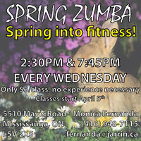 ZUMBA CLASSES FOR ONLY $6.00