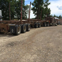 Super B short wood trailers for sale