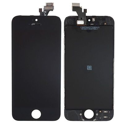 LCD Lens Touch Screen Display Digitizer Assembly Replacement for iPhone 5 Black on Rummage