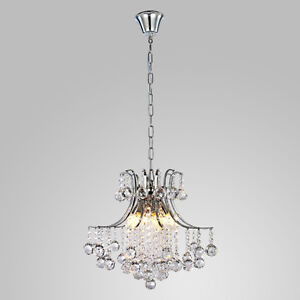 New Crystal Silver Chandelier, Free Delivery and Installation West Island Greater Montréal image 2