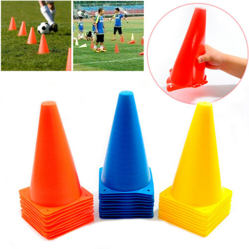 10 Stück Trainingskegel Verkehr Kegel Für Fußball Basketball Training Orange
