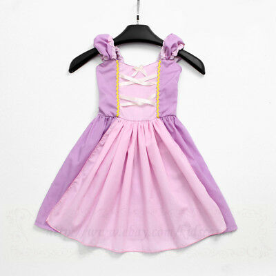 RAPUNZEL costume princess dress for Baby girls birthday party holiday gift PD22 - Costumes For Infants