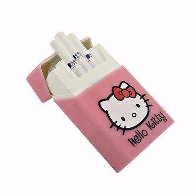 Hello Kitty Silicone Cigarette Case Cover Smoking Cigarette Box Girls Gift
