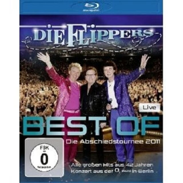 "DIE FLIPPERS ""BEST OF LIVE ABSCHIEDSTOURNEE"" BLU RAY"