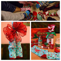 Ugly Christmas Sock Exchange