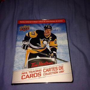 Tim Horton 2016-17 Hockey Card Master Set COMPLETE in Album