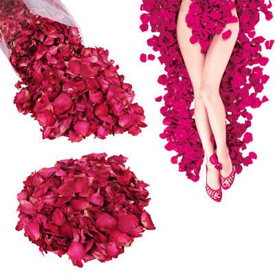 Real Rose Petals (50/100g Dried Real Natural Rose Flowers Petals making Bath SPA Foot Skin Care)