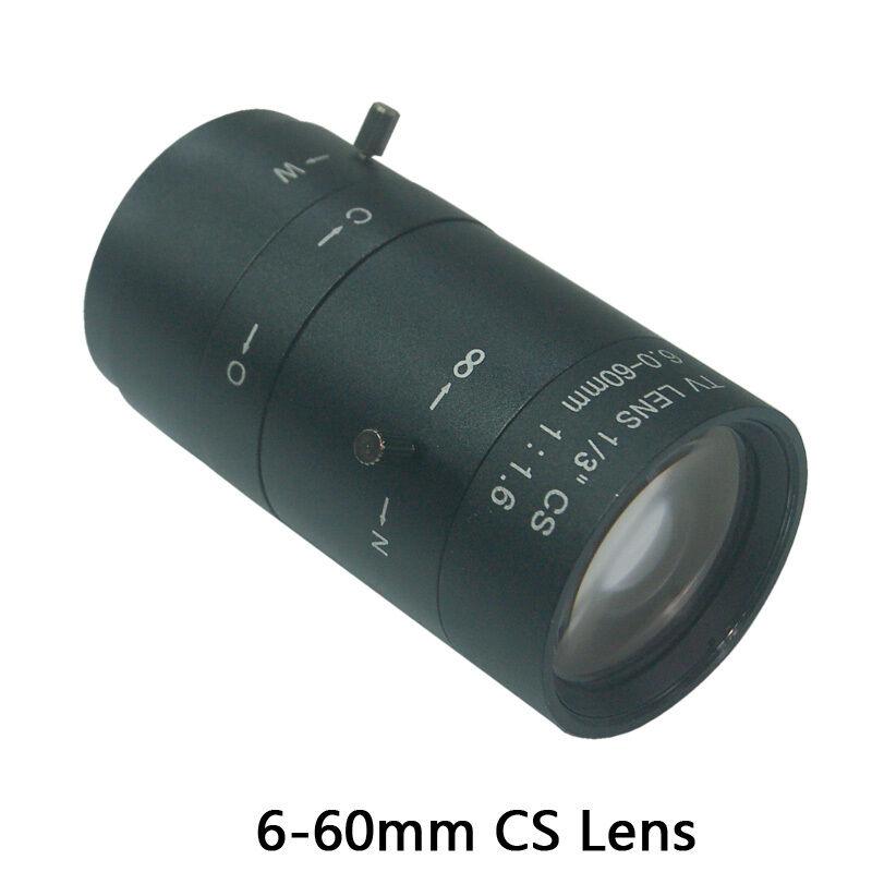Sunvision 6-60mm Varifocal f/1.6 All Manual 2MP HD CS Mount CCTV Camera Lens
