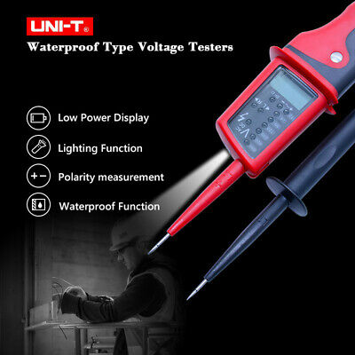 Uni-t Ut15c Voltage Tester Led Lcd Display Continuity Pen Meter Tester Low Power