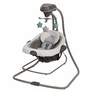 Graco DuetConnect LX Swing + Bouncer - Manor