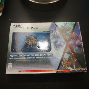 New 3DS XL monster hunter Limited edition !