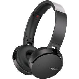 Sony MDR-XB650BT EXTRABASS Bluetooth Headphones Black Blue