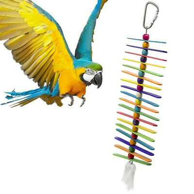 Hot Sale Pet Bird Toys Bird Cage Swing Climb Ladder Hanging for Birds Parrots