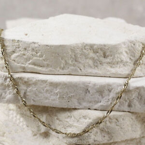 """Sterling Silver MILOR 2mm Gold Plate Singapore Chain 25.25"""""""