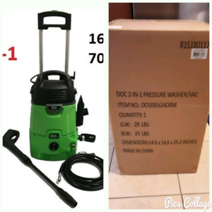 Doc 2 in 1 Pressure Washer and Vacuum