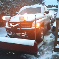 Snow plowing  available