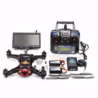 New 250 Race Quad FPV Racing Drone RC RTF Package w/ monitor