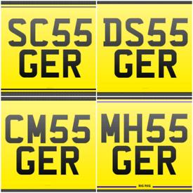 Private REG REGISTRATION Cherished Number plates