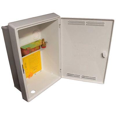 INSET CAVITY G4 U6 DOMESTIC GAS METER HOUSING WITH VENTED DOOR & METER BRACKET for sale  Wirral