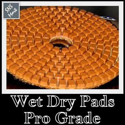 4 Diamond Polishing Pad Pro Wetdry Granite 1pc