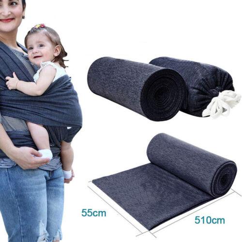 Newborn Infant Baby Carrier Sling Wrap Swaddling Front Strap