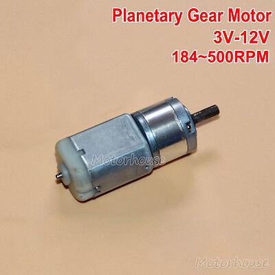 Dc 3v12v 500rpm 22mm Micro 280 Planetary Gearbox Gear Motor Diy Robot Smart Car