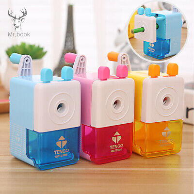 Cartoon Pencil Sharpener Basic Type For Office Hand Crank Pencil Cutting Machine