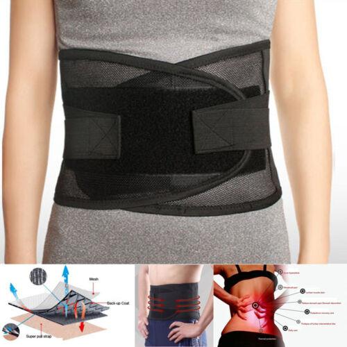 Atmungsaktiv Hüftgurt Fitness Anpassen Lenden Rückenbandage Schwer Arbeit Stütze