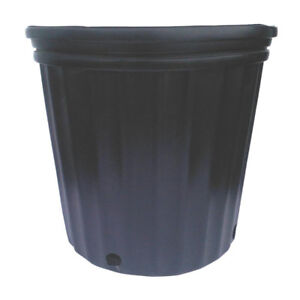3 gallon black nursery pots for sale - never been used!