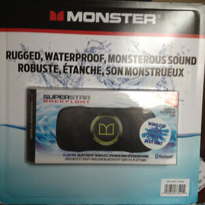 Monster Superstar Backfloat floatable bluetooth speakers