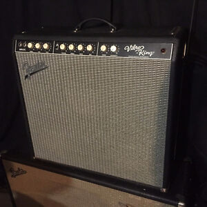 FENDER VIBRO KING hand wired Custom Shop Amp