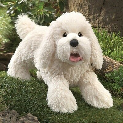 PANTING DOG Puppet # 3053 ~ FREE SHIPPING within USA ~ Folkmanis Puppets