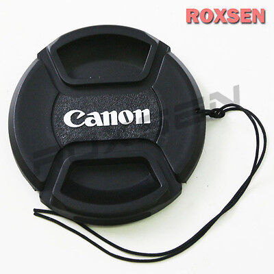 62mm Front Lens Cap (62mm 62 mm Pinch Snap on front lens cap for Canon E-62 II EF EF-S mount lens)