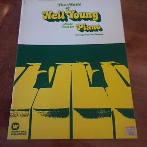 7 Neil Young Music Books Kitchener / Waterloo Kitchener Area image 2
