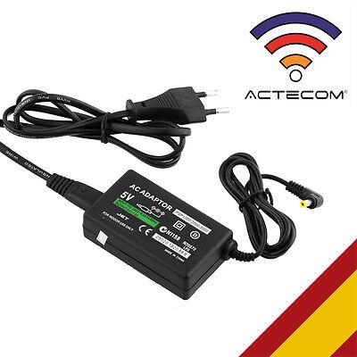 ACTECOM® CARGADOR RED AC PARA SONY PSP 2000 SLIM / 3000 /...