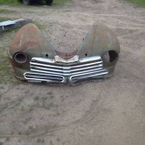 Old Front End.. Perfect for landscaping or make into a bench.